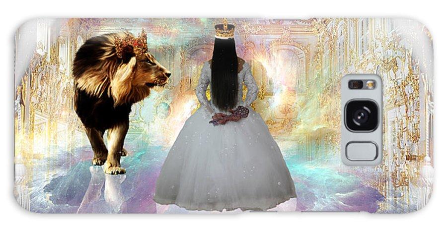 Kingdom Seer Galaxy S8 Case featuring the digital art Kingdom Seer by Dolores Develde