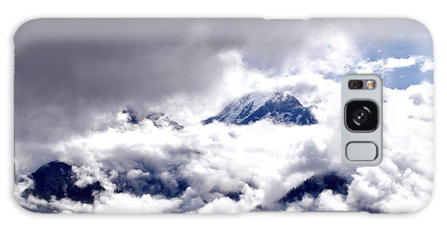 Hills Galaxy S8 Case featuring the photograph Kinner Kailash Hills- Himachal Pradesh- Viator's Agonism by Vijinder Singh