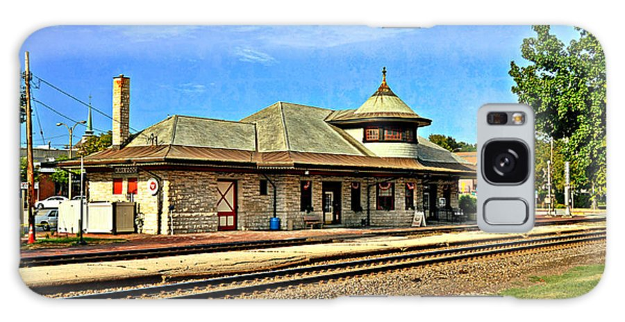Train Galaxy S8 Case featuring the photograph Kirkwood Station by Marty Koch