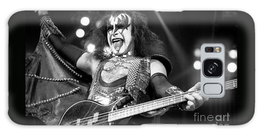 Gene Simmons Galaxy S8 Case featuring the photograph Kiss-gene-gp10 by Timothy Bischoff
