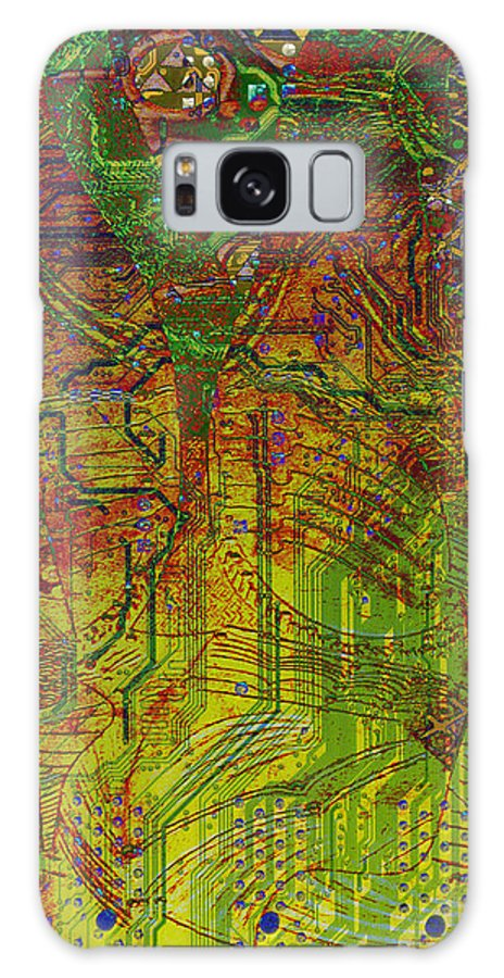 Digital Art Galaxy S8 Case featuring the digital art Klimt Honor Whole by Mary Clanahan