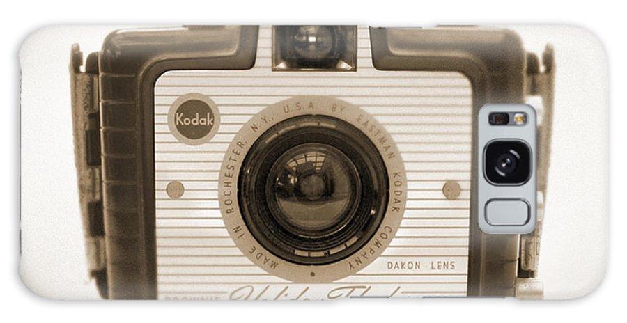 Vintage Kodak Galaxy S8 Case featuring the photograph Kodak Brownie Holiday Flash by Mike McGlothlen