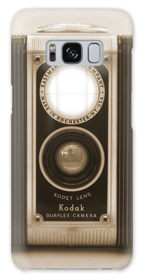 Twin Lens Galaxy S8 Case featuring the photograph Kodak Duaflex Camera by Mike McGlothlen