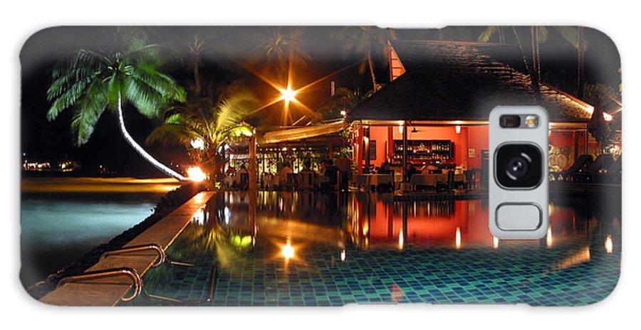 3scape Galaxy Case featuring the photograph Koh Samui Beach Resort by Adam Romanowicz
