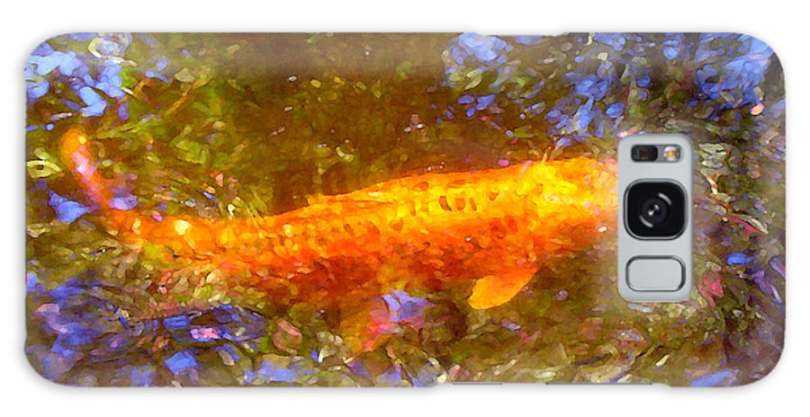 Animal Galaxy S8 Case featuring the painting Koi Fish 2 by Amy Vangsgard