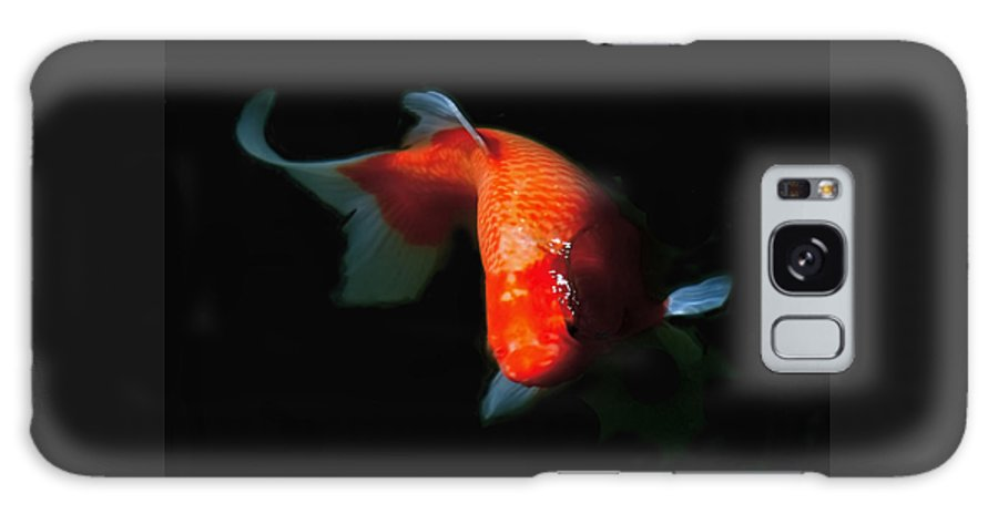 Koi Galaxy S8 Case featuring the photograph Koi by Rona Black