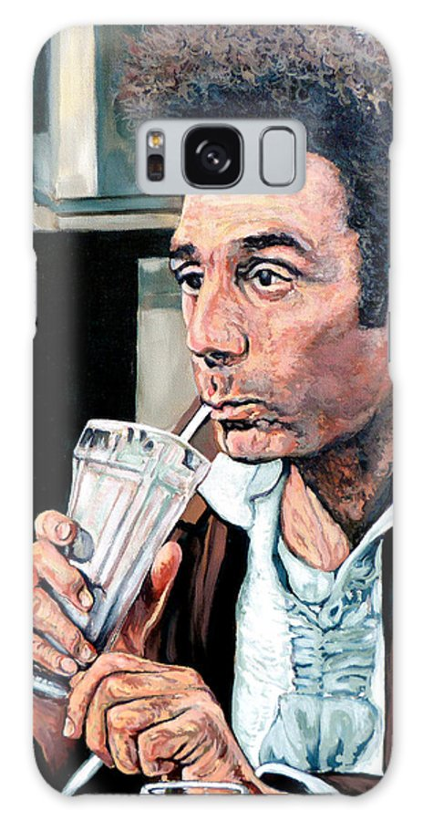 Kramer Portrait Galaxy S8 Case featuring the painting Kramer by Tom Roderick