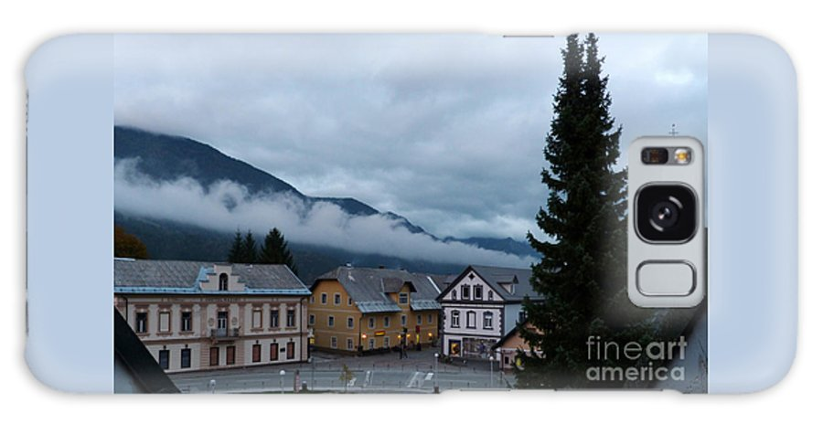 Gora Kranjska Slovenia Autumn Clouds Evening Landscape Rain Weather Galaxy S8 Case featuring the photograph Kranjska Gora - Autumnal Evening by Phil Banks