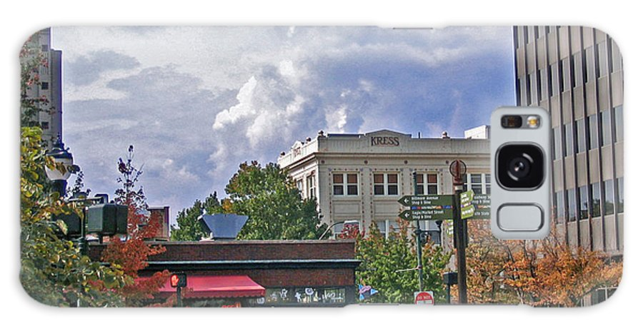 Kress Building Galaxy S8 Case featuring the photograph Kress Building Asheville by Marian Bell