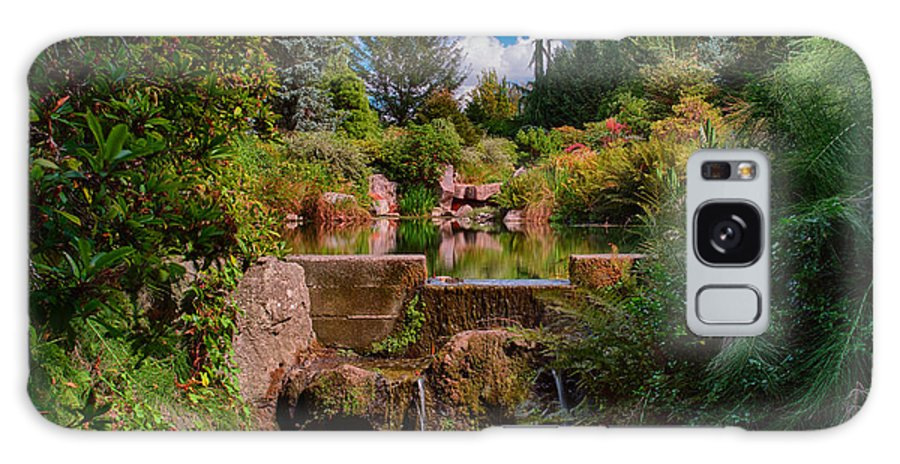 Seattle Galaxy S8 Case featuring the photograph Kubota Garden Pond by Jonah Anderson
