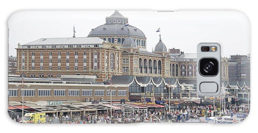 Kurhaus Galaxy S8 Case featuring the photograph Kurhaus Scheveningen Netherlands by Ronald Jansen