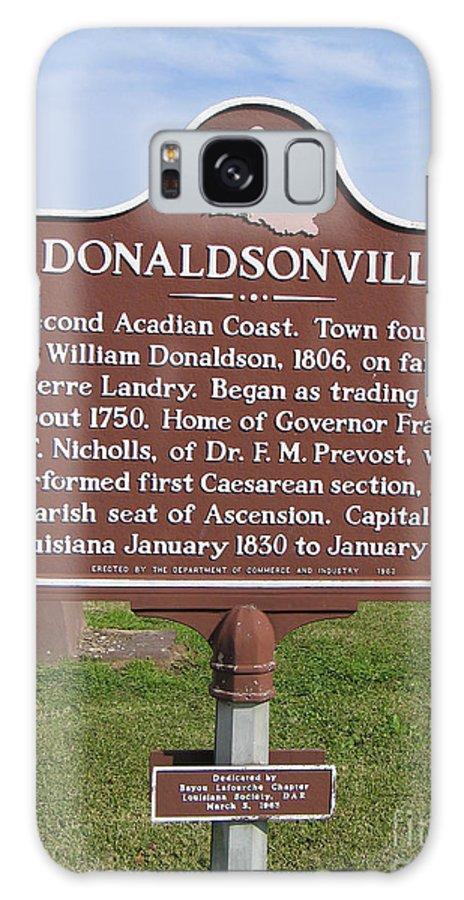 Donaldsonville Galaxy S8 Case featuring the photograph La-033 Donaldsonville by Jason O Watson