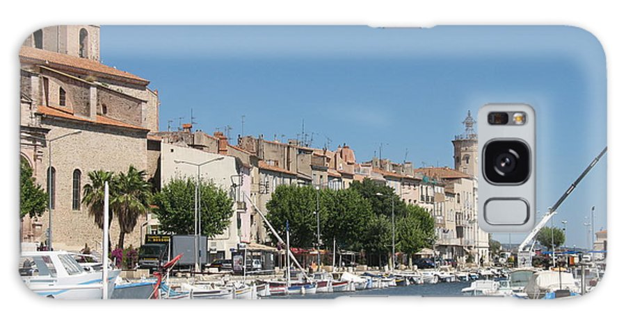 Habor Galaxy S8 Case featuring the photograph La Ciotat Harbor by Christiane Schulze Art And Photography