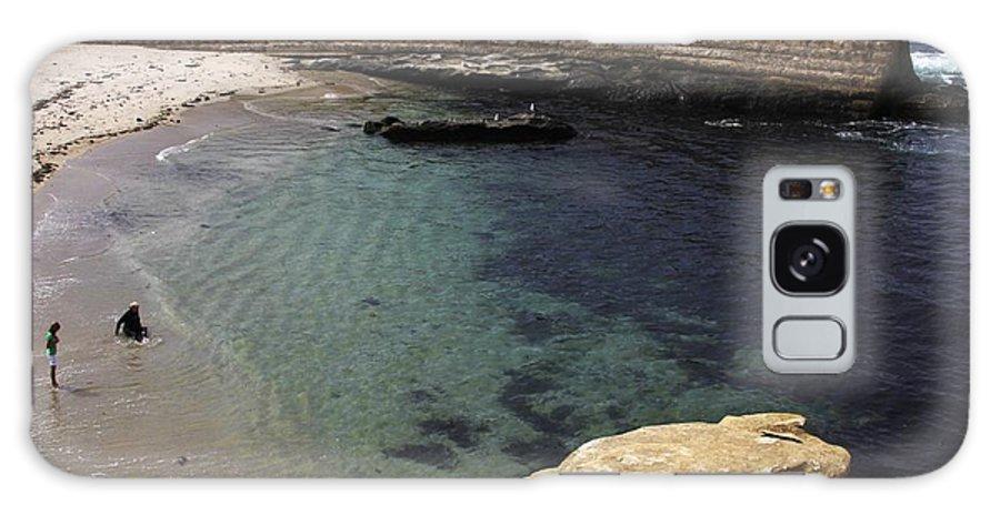 La Jolla Cove Galaxy S8 Case featuring the photograph La Jolla Cove by Linda Gray