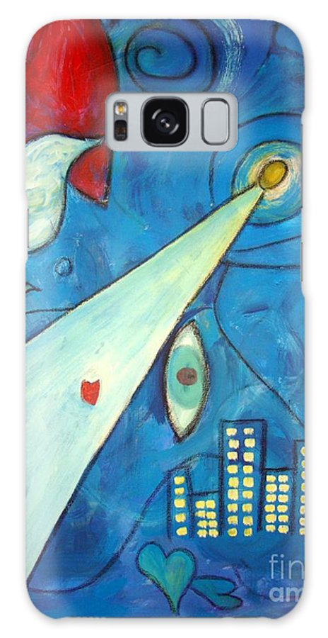 Original Painting Galaxy S8 Case featuring the painting La Nuit by Venus