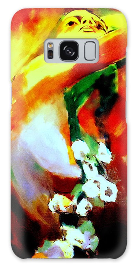 Nude Figures Galaxy S8 Case featuring the painting La Vie by Helena Wierzbicki