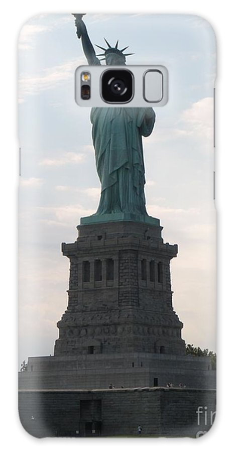 Statue Of Liberty Galaxy S8 Case featuring the photograph Lady Liberty by Luther Fine Art
