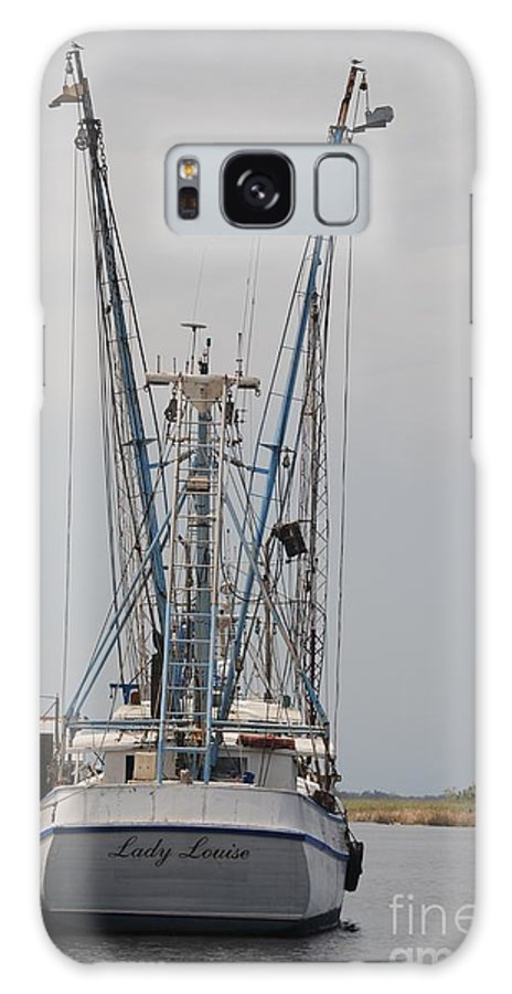 Shrimp Boat Galaxy S8 Case featuring the photograph Lady Louise by Lucy Bounds