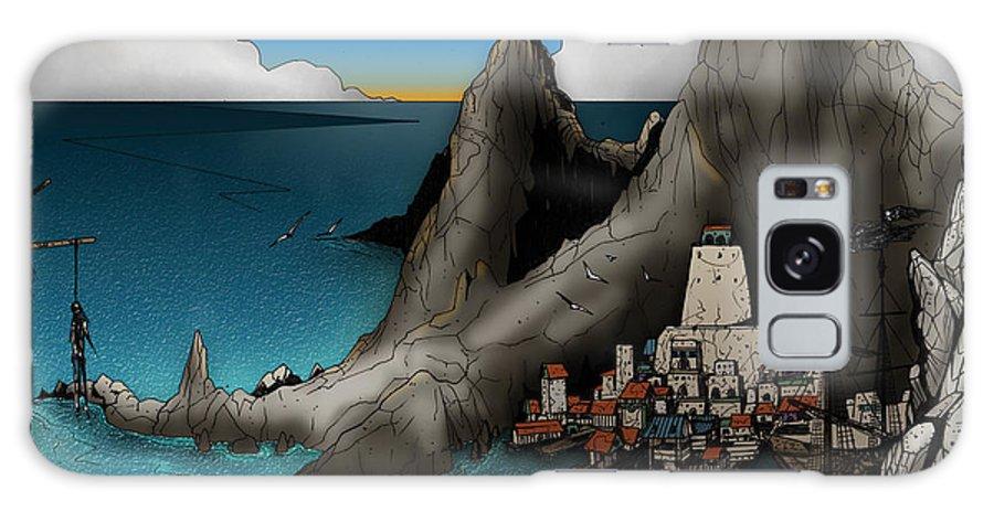 Usherwood Galaxy S8 Case featuring the digital art Lagott Island by James Kramer