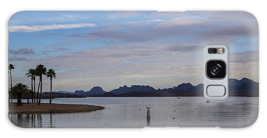 Lake Havasu City Galaxy S8 Case featuring the photograph Lake Beach by Angus Hooper Iii