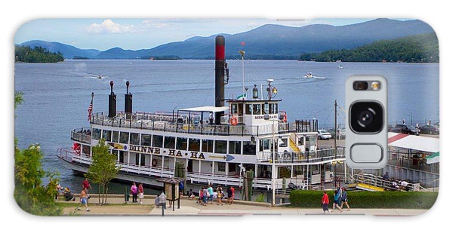 Minne Ha Ha Galaxy S8 Case featuring the photograph Lake George Cruise by Allan Morrison