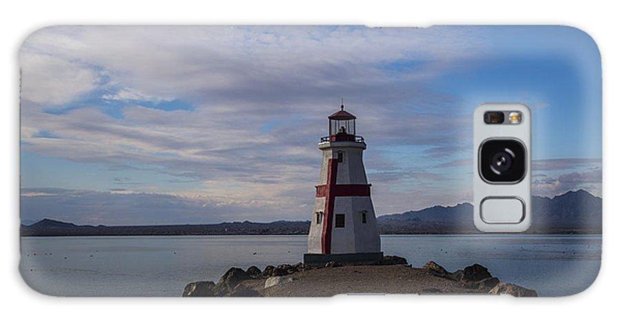 Lake Havasu City Galaxy S8 Case featuring the photograph Lake Havasu Lighthouse by Angus Hooper Iii