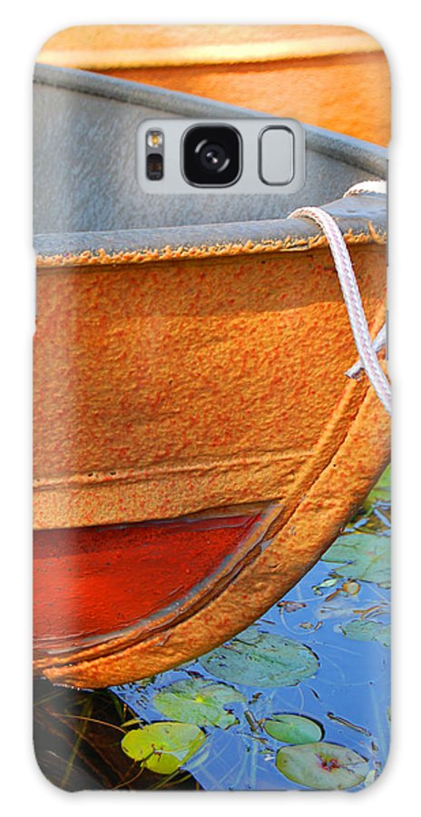Water Galaxy S8 Case featuring the photograph Lake Hopatcong Boat by Lucia Vicari