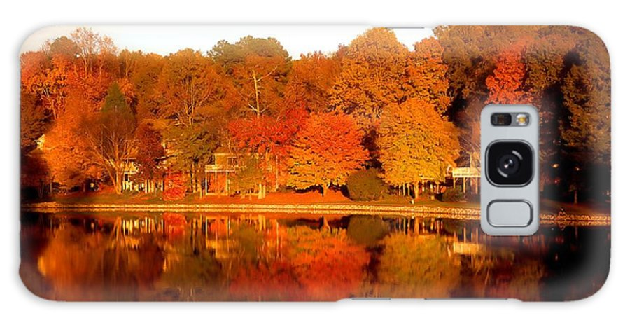 Lake Galaxy S8 Case featuring the photograph Lake Lochmere by Raleigh Art Gallery
