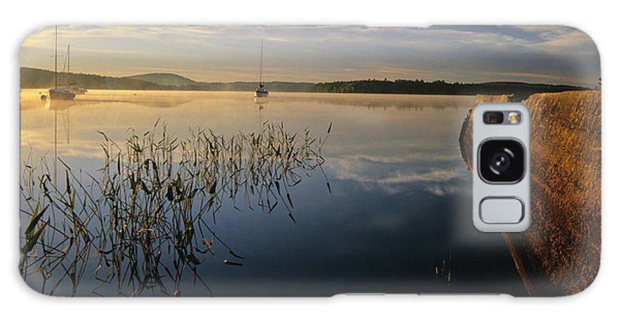 Lake Massabesic Galaxy S8 Case featuring the photograph Lake Massabesic - Auburn New Hampshire by Erin Paul Donovan