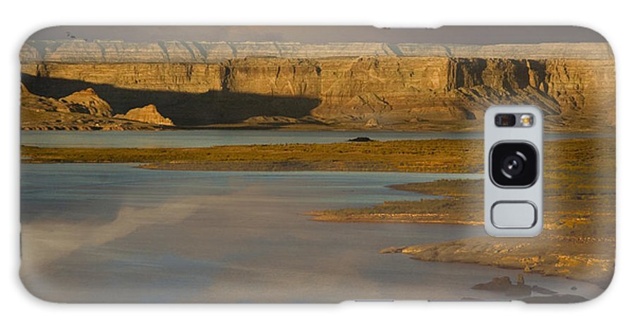 Slot Canyons Galaxy S8 Case featuring the digital art Lake Powell by Angelika Drake