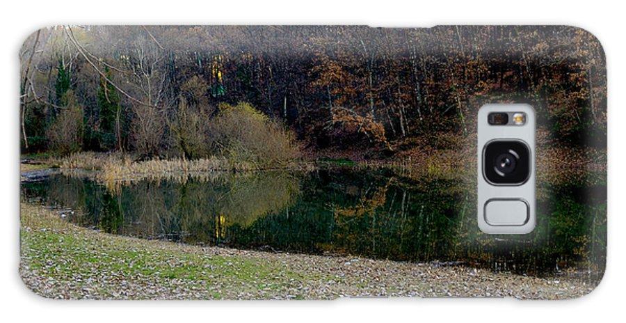 Landscape Galaxy S8 Case featuring the photograph Lake Reflection by Ilir Papavangjeli