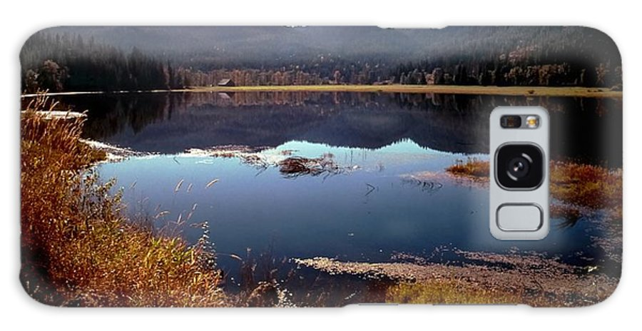 Mountain Galaxy S8 Case featuring the photograph Lake Reflection by Jerry Sodorff