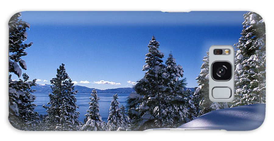 Lake Tahoe Galaxy S8 Case featuring the photograph Lake Tahoe In Winter by Kathy Yates