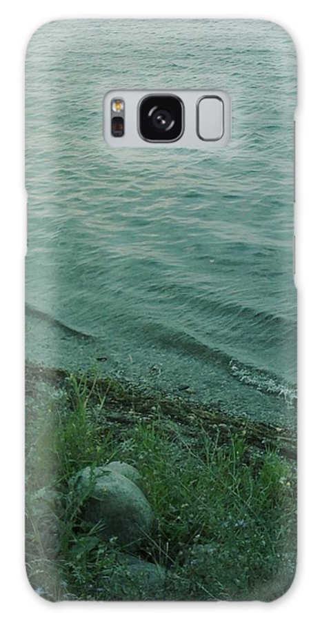 Photography Galaxy S8 Case featuring the photograph Lakeside At Dusk by Gina Bonelli