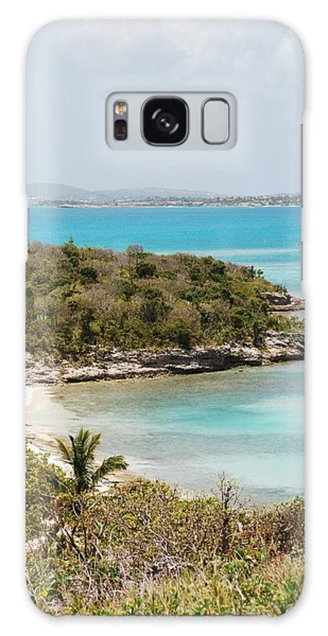 Water Galaxy S8 Case featuring the photograph Land To Sea by Kathy Gibbons