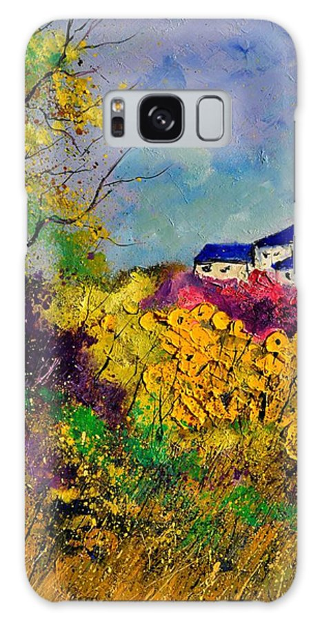 Landscape Galaxy S8 Case featuring the painting Landscape 452120 by Pol Ledent