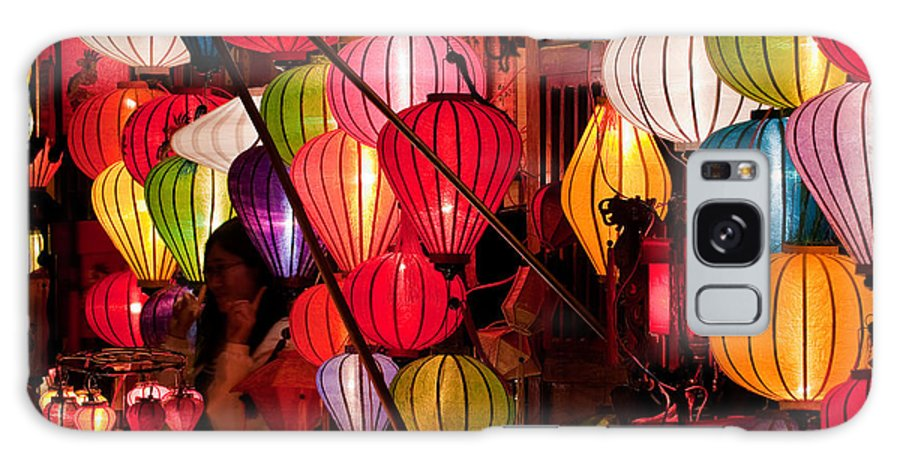 Vietnam Galaxy S8 Case featuring the photograph Lantern Stall 03 by Rick Piper Photography