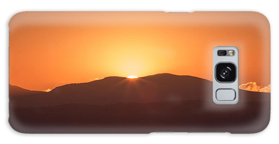 Rocky Mountains Galaxy S8 Case featuring the photograph Last Rays by Rick Machle