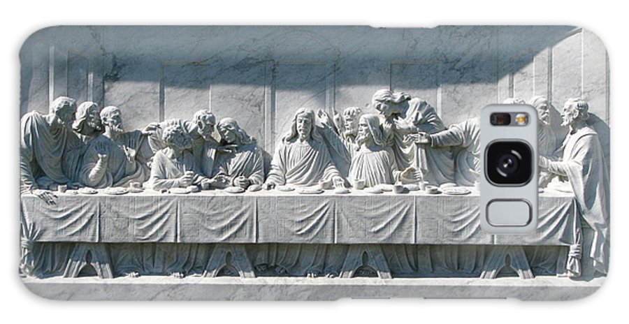 Art For The Wall...patzer Photography Galaxy Case featuring the photograph Last Supper by Greg Patzer