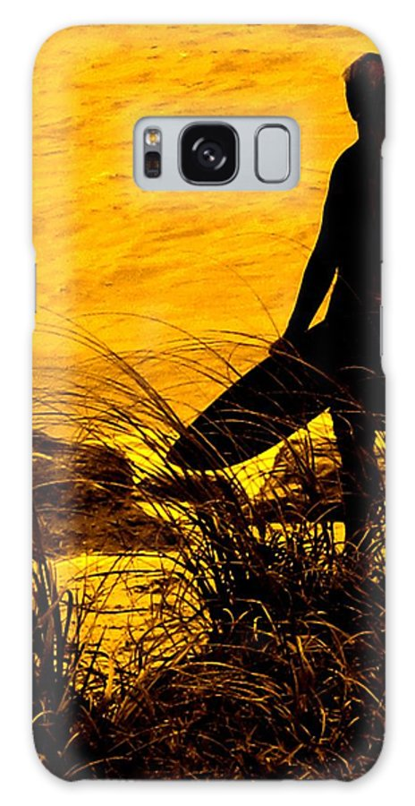 Florida Galaxy S8 Case featuring the photograph Last Surfer Standing by Ian MacDonald