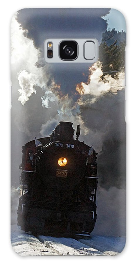 Conway Galaxy S8 Case featuring the photograph Late For Home 02 by Jeff Stallard