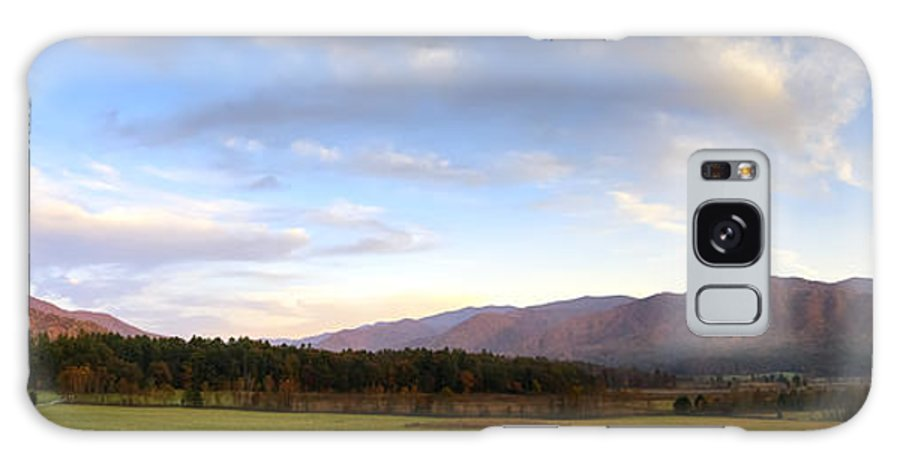 Cades Cove Galaxy S8 Case featuring the photograph Late October Dusk At Cades Cove by Steve Samples