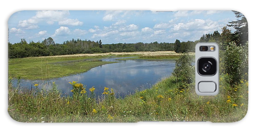 New England Galaxy S8 Case featuring the photograph Late Summer Pond by Gene Cyr