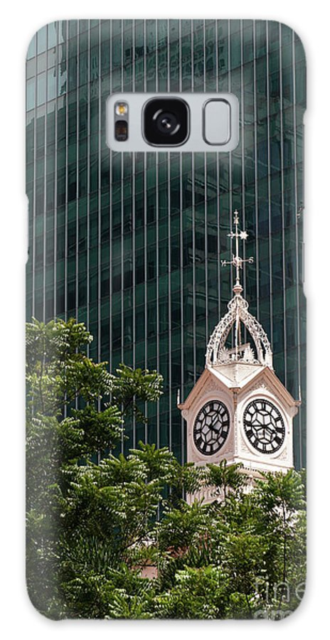Singapore Galaxy S8 Case featuring the photograph Lau Pa Sat Market 03 by Rick Piper Photography