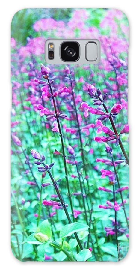 Lavender Galaxy S8 Case featuring the photograph Lavender Color Flowers by Eric Schiabor