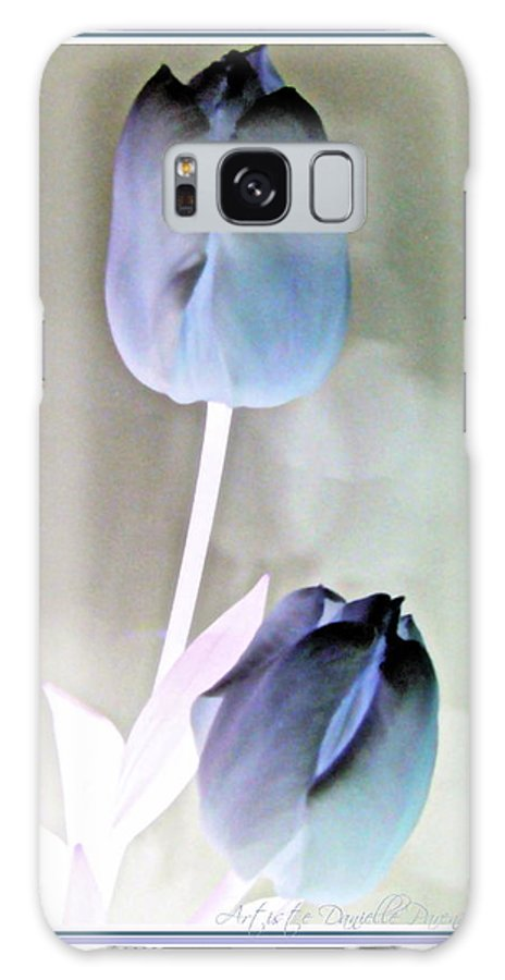 Closeups Galaxy S8 Case featuring the photograph Lavender Tulips by Danielle Parent