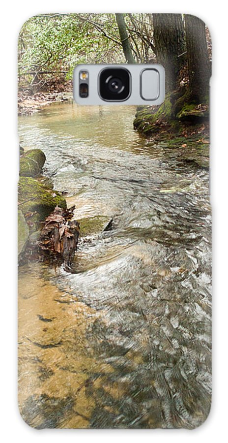 Lazy Galaxy S8 Case featuring the photograph Lazy Mountain Stream by Douglas Barnett