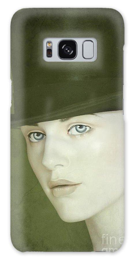 Hat Galaxy S8 Case featuring the photograph Le Chapeau by Sophie Vigneault