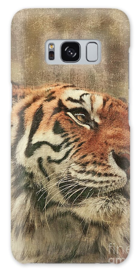 Tiger Galaxy S8 Case featuring the photograph Le Reveur by Aimelle