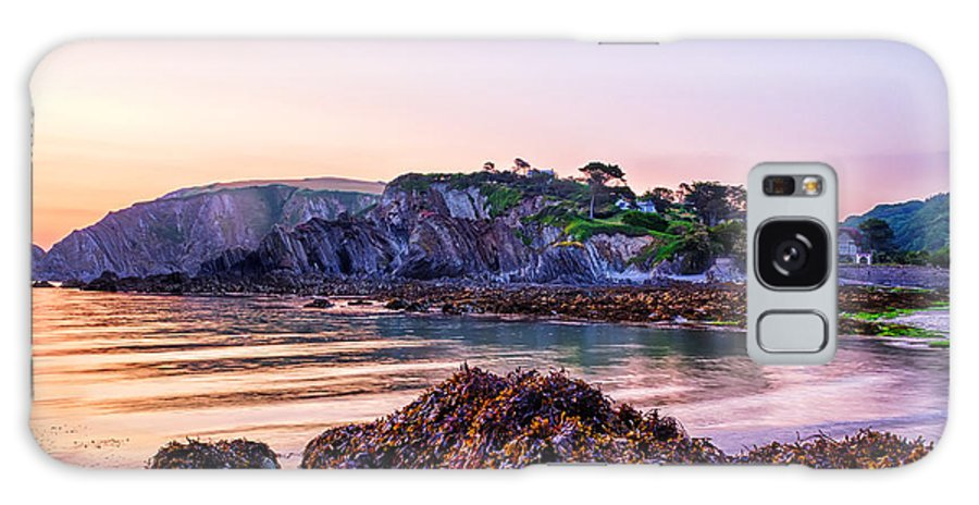 Bladderwrack Galaxy S8 Case featuring the photograph Lee Bay Sunrise by Dave Wilkinson